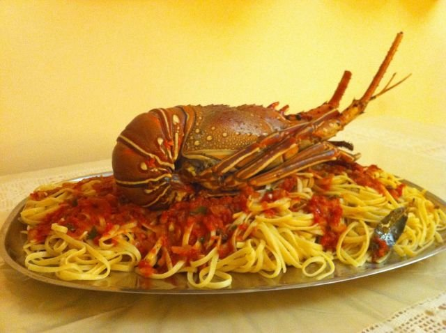 Lobster Kaparelli Taverna St. Stefano - Corfu, Greece